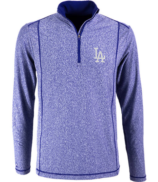 Men's Antigua Los Angeles Dodgers MLB Tempo Quarter-Zip Jacket