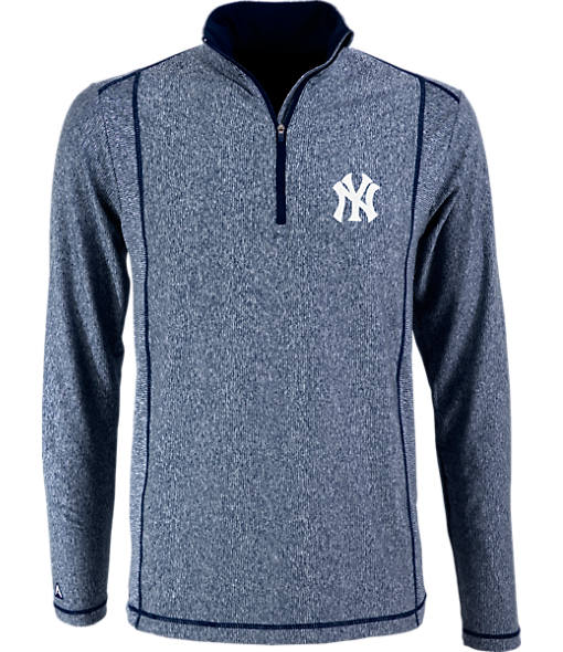 Men's Antigua New York Yankees MLB Tempo Quarter-Zip Jacket