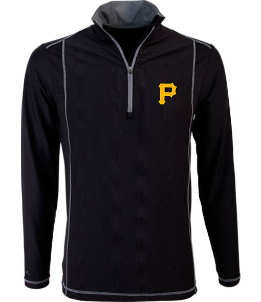 Men's Antigua Pittsburgh Pirates MLB Tempo Quarter-Zip Jacket