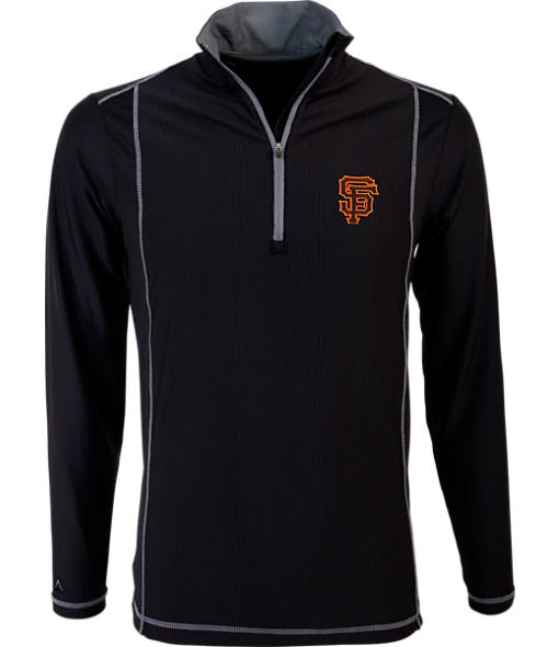 Men's Antigua San Francisco Giants MLB Tempo Quarter-Zip Jacket