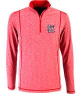 Men's Antigua St. Louis Cardinals MLB Tempo Quarter-Zip Jacket