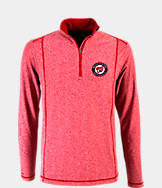 Men's Antigua Washington Nationals MLB Tempo Quarter-Zip Jacket