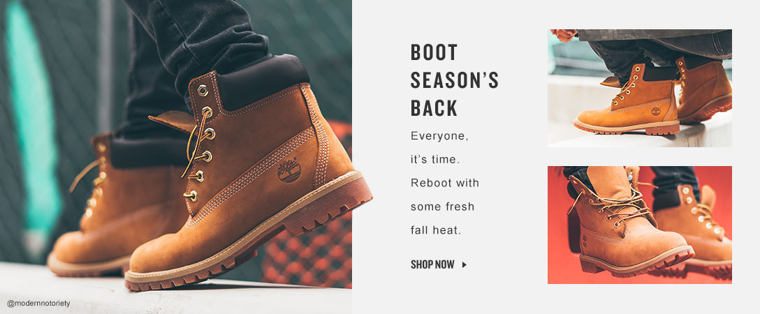 Boot Season Is Back. Shop Now.