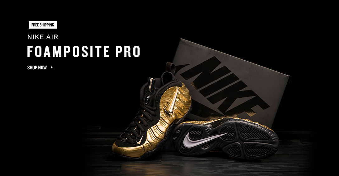 Nike Foamposite. Shop Now.