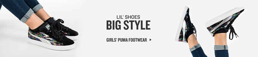 Shop Girls' Puma Footear.