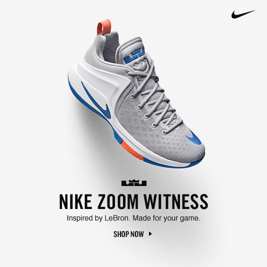 Nike Zoom Witness. Shop Now.