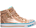 Girls' Preschool Skechers Twinkle Toes: Shuffles - Heart N Soul Casual Shoes