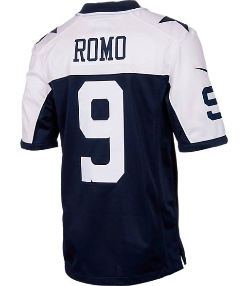 Men's Nike Dallas Cowboys NFL Tony Romo Limited Jersey