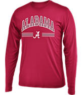 Men's Stadium Alabama Crimson Tide College Drift Long Sleeve Shirt