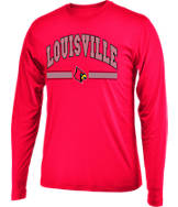 Men's Stadium Louisville Cardinals College Drift Long Sleeve Shirt