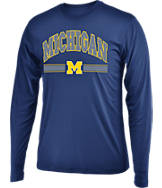 Men's Stadium Michigan Wolverines College Drift Long Sleeve Shirt