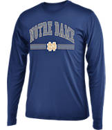 Men's Stadium Notre Dame Fighting Irish College Drift Long Sleeve Shirt