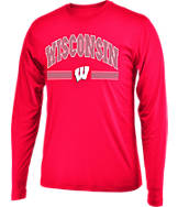 Men's Stadium Wisconsin Badgers College Drift Long Sleeve Shirt