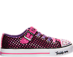 Girls' Preschool Skechers Twinkle Toes: Shuffles - Mysticals Casual Shoes