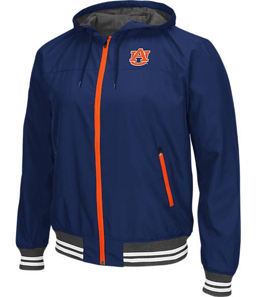 Men's Stadium Auburn Tigers College Black Ice HD Windbreaker Jacket
