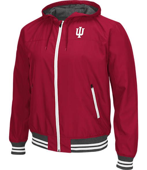 Men's Stadium Indiana Hoosiers College Black Ice HD Windbreaker Jacket