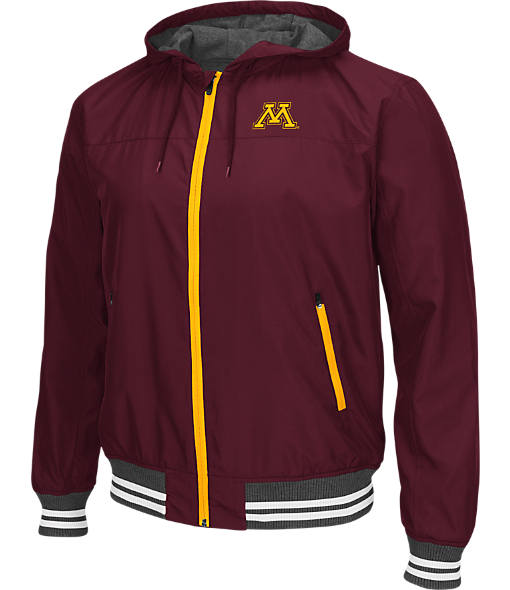 Men's Stadium Minnesota Golden Gophers College Black Ice HD Windbreaker Jacket