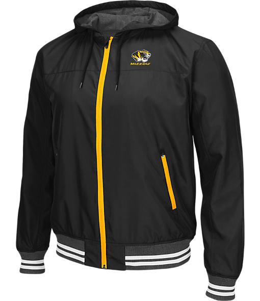 Men's Stadium Missouri Tigers College Black Ice HD Windbreaker Jacket
