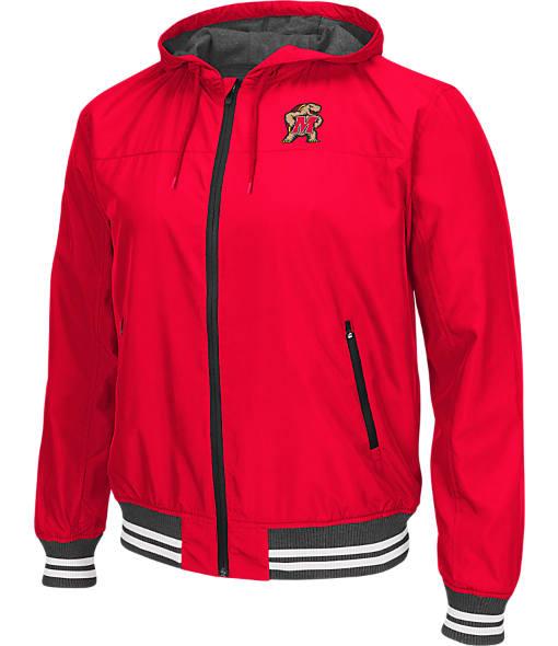 Men's Stadium Maryland Terrapins College Black Ice HD Windbreaker Jacket