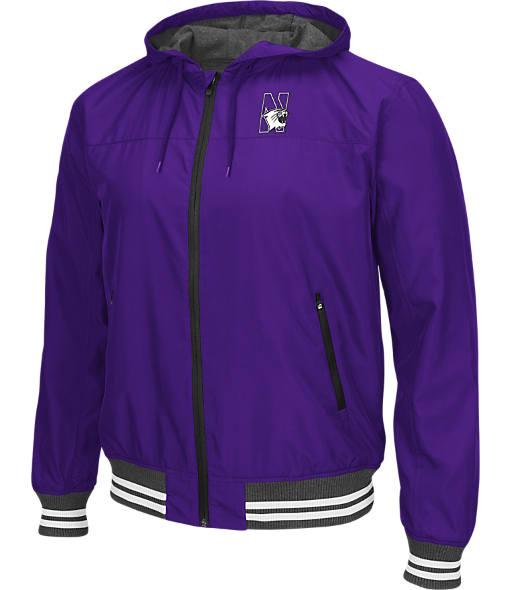 Men's Stadium Northwestern WIldcats College Black Ice HD Windbreaker Jacket