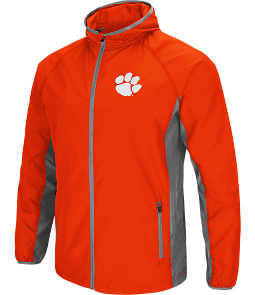 Men's Stadium Clemson Tigers College Archer Full-Zip Hoodie