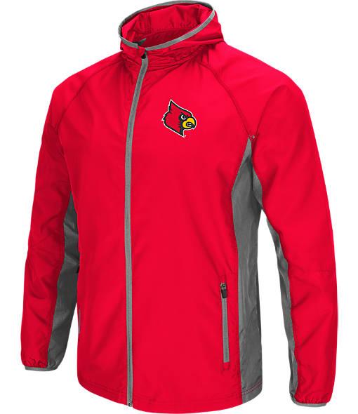 Men's Stadium Louisville Cardinals College Archer Full-Zip Hoodie