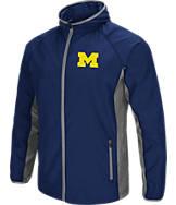 Men's Stadium Michigan Wolverines College Archer Full-Zip Hoodie