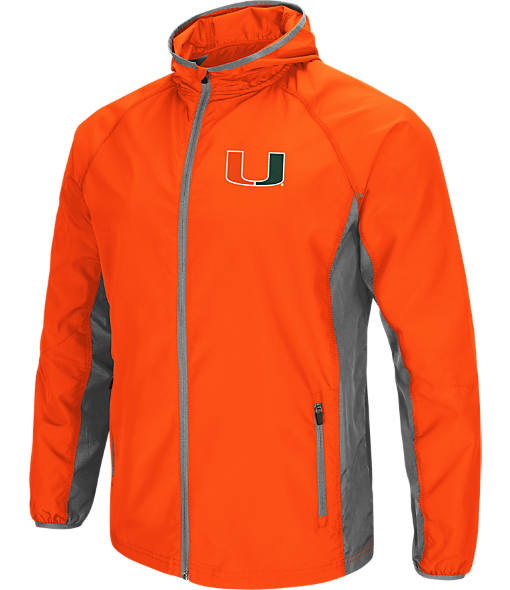 Men's Stadium Miami Hurricanes College Archer Full-Zip Hoodie