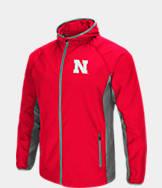Men's Stadium Nebraska Cornhuskers College Archer Full-Zip Hoodie
