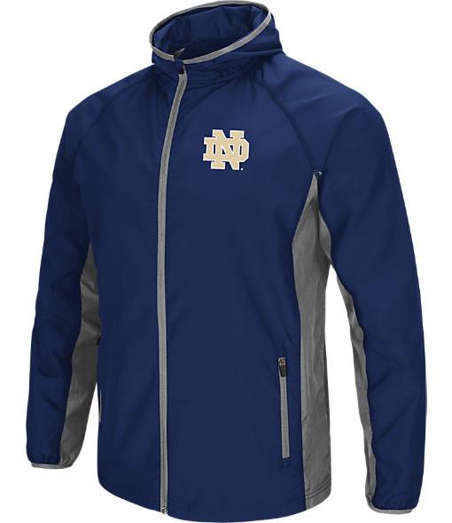 Men's Stadium Notre Dame Fighting Irish College Archer Full-Zip Hoodie