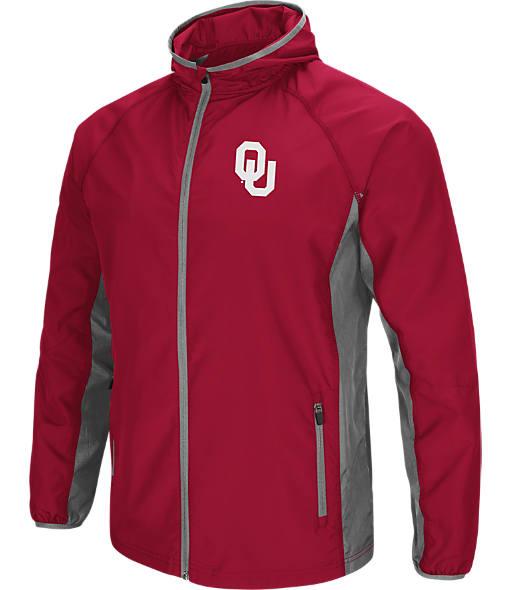Men's Stadium Oklahoma Sooners College Archer Full-Zip Hoodie