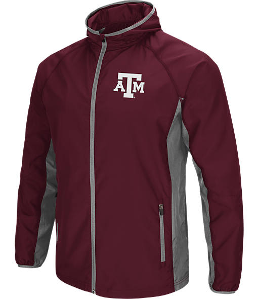 Men's Stadium Texas A&M Aggies College Archer Full-Zip Hoodie