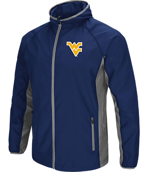 Men's Stadium West Virginia Mountaineers College Archer Full-Zip Hoodie