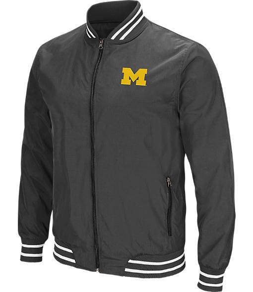 Men's Stadium Michigan Wolverines College Blade Full-Zip Jacket