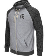Men's Stadium Michigan State Spartans College Regulation Full-Zip Hoodie