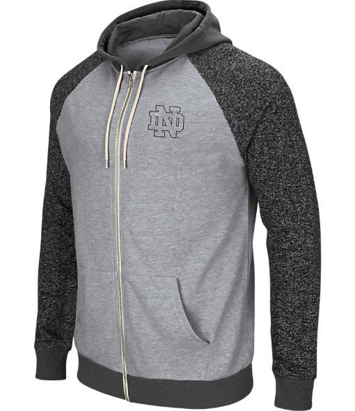 Men's Stadium Notre Dame Fighting Irish College Regulation Full-Zip Hoodie