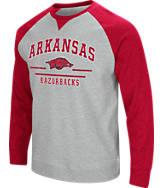Men's Stadium Arkansas Razorbacks College Turf Fleece Crew Sweatshirt