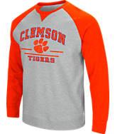 Men's Stadium Clemson Tigers College Turf Fleece Crew Sweatshirt