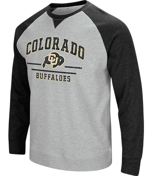 Men's Stadium Colorado Buffaloes College Turf Fleece Crew Sweatshirt