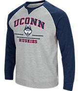 Men's Stadium UCONN Huskies College Turf Fleece Crew Sweatshirt