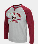 Men's Stadium Florida State Seminoles College Turf Fleece Crew Sweatshirt