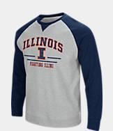 Men's Stadium Illinois Fighting Illini College Turf Fleece Crew Sweatshirt