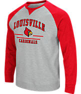 Men's Stadium Louisville Cardinals College Turf Fleece Crew Sweatshirt