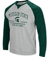 Men's Stadium Michigan State Spartans College Turf Fleece Crew Sweatshirt