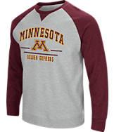 Men's Stadium Minnesota Golden Gophers College Turf Fleece Crew Sweatshirt