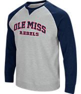 Men's Stadium Mississippi Rebels College Turf Fleece Crew Sweatshirt