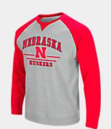 Men's Stadium Nebraska Cornhuskers College Turf Fleece Crew Sweatshirt
