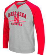 Men's Stadium Nebraska Cornhuskers College Turf Fleece Crew Sweatshirt