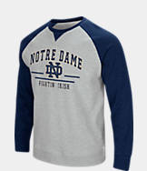 Men's Stadium Notre Dame Fighting Irish College Turf Fleece Crew Sweatshirt