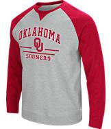 Men's Stadium Oklahoma Sooners College Turf Fleece Crew Sweatshirt
